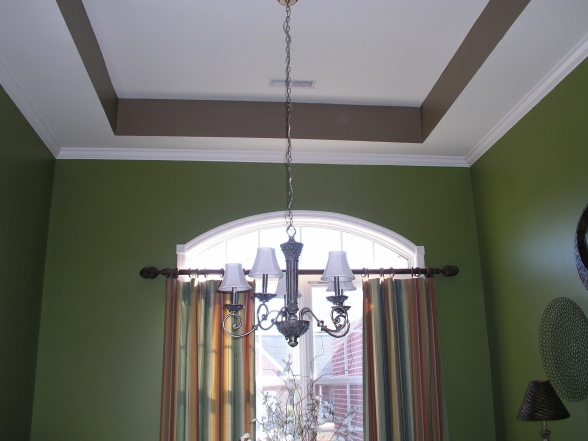 Tray Ceiling House Home Pinterest
