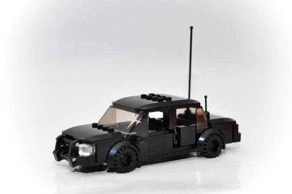 how to make a custom lego police car