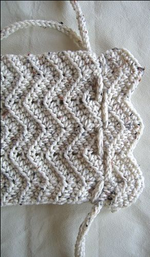Free Crochet Purse Patterns For Beginners : Free Beginners Crochet Purse - Tutorial Crochet Pinterest