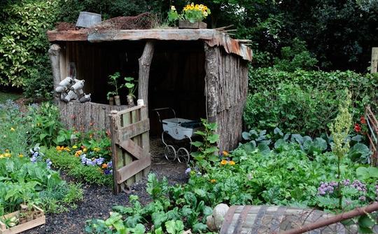 garden in Wales