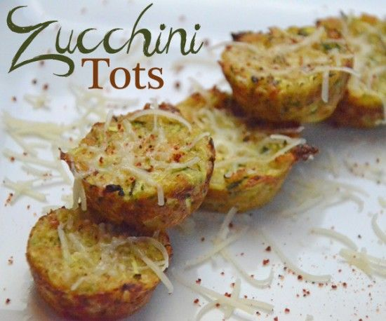 Zucchini Tots (wonder what you could substitute for the wheat flour to ...