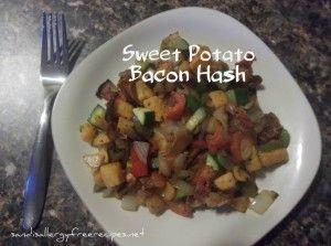 Sweet Potato Bacon Hash | Allergy-Free Wednesday Favorites | Pinterest