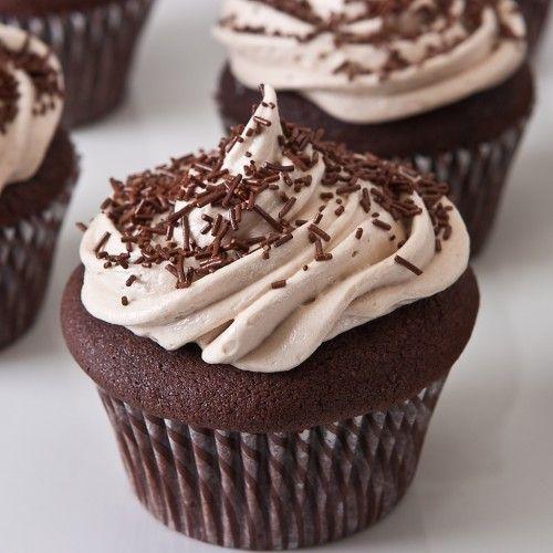 Gluten Free Drunken Chocolate Cupcakes