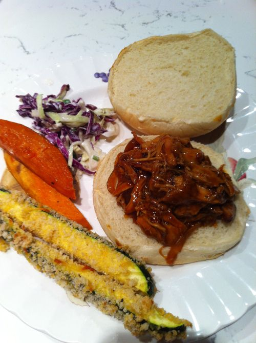 Barbecue Chicken Sandwiches   Sandwiches   Pinterest