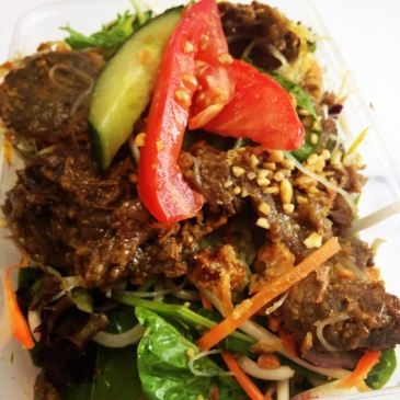 Vietnamese Lemongrass Beef Salad | Paleo, gluten free, plain healthy ...