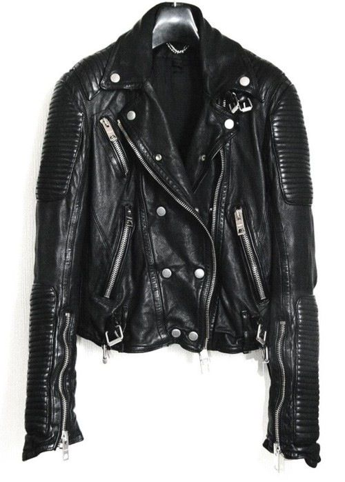 The Perfect Bikers Jacket- Burberry Prorsum quilted leather jacket