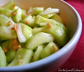 cucumber peanut salad | Food | Pinterest