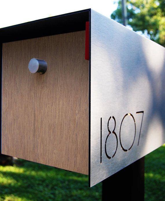 Modern Wall Mailbox Modern Mailbox by
