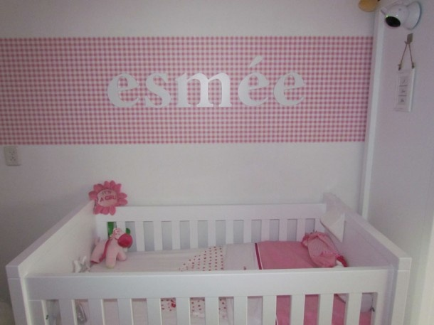 Behang voor in de kinderkamer  -Lady With Style-  Pinterest