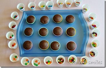Cupcake decorating party - simple, delicious fun! #kids #party