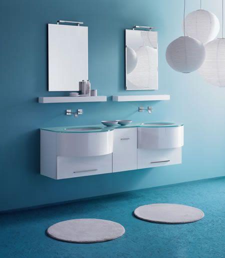 His and hers modern bathroom sink... Bathroom Remodel Pinterest