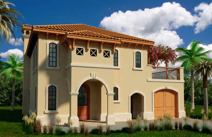 italian inspired house exterior colors | Tuscan Exterior Design
