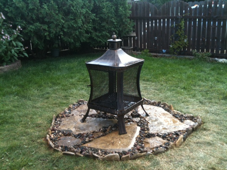 Infinite Heat Solutions Deck Protect Fire Pit Pad - Sears