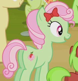 My little pony apple tart