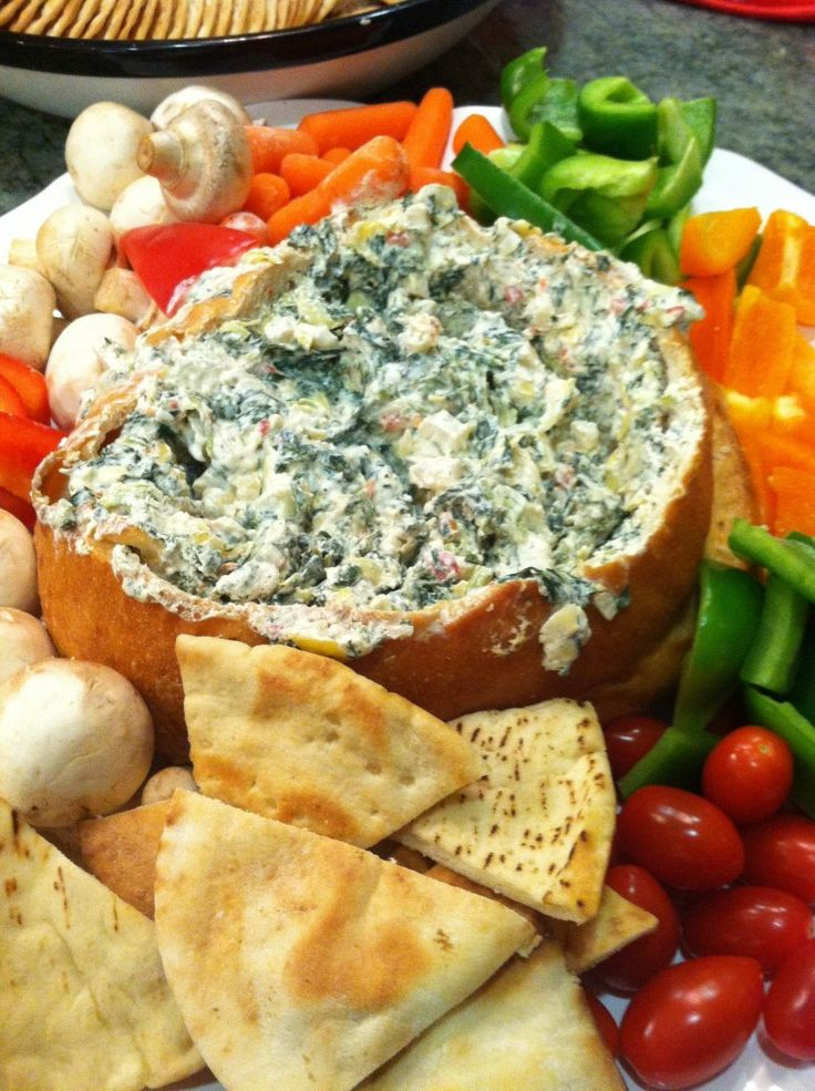 The BEST spinach dip you'll ever eat! | Food Glorious Food | Pinterest