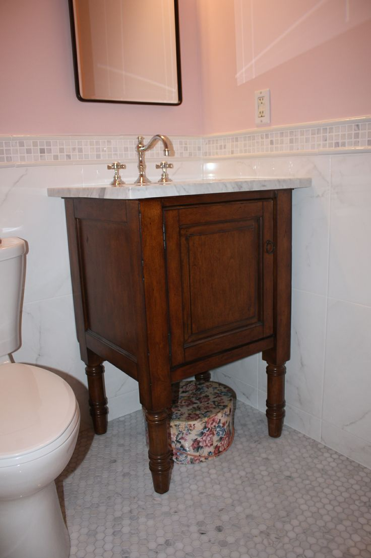 Excellent Find Out How You Can Make Your Very Own Bathroom  The Vanity Top Was Still Functional, But The Damage Gave Me A Reason To Do What I Wanted I Built A New Vanity Base Because I Wanted A White Square Sink I Saw The Beautiful Rustic