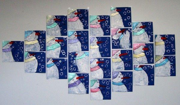 Bonhommes de neige maternelle pinterest - Pinterest bonhomme de neige ...