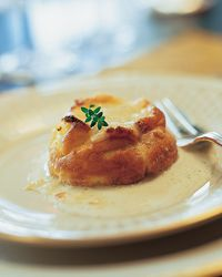 Double-Baked Three-Cheese Souffle