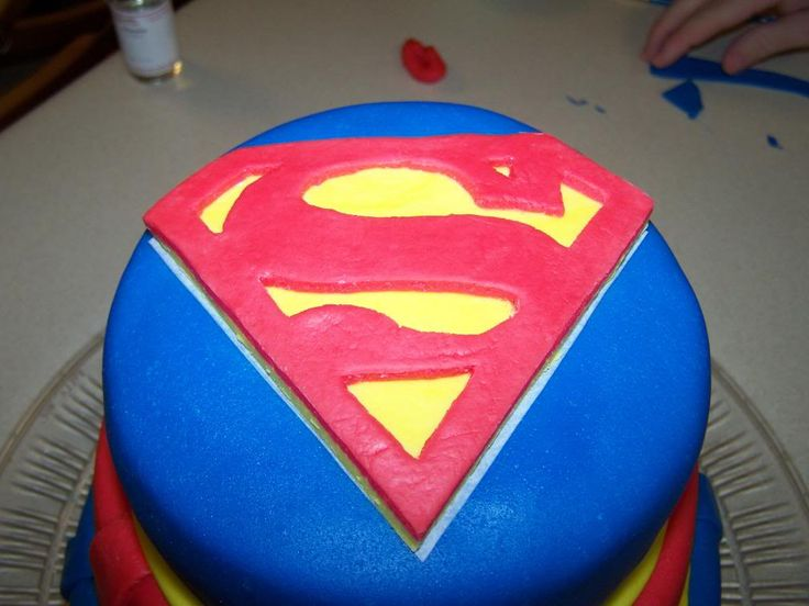 Supergirl Cake Children S Birthday
