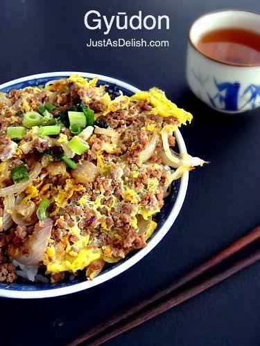 Japanese Gyudon (Beef Bowl) | Healthy Malaysian Food Blog & Food ...