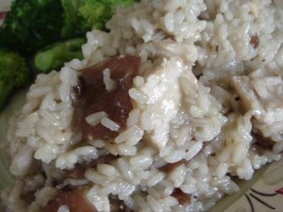 Risotto with Chicken and Caramelized Onions