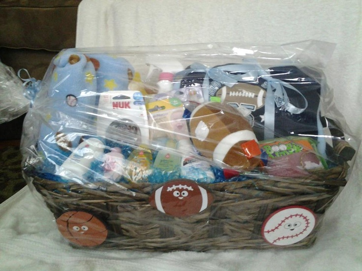 Baby Boy Gift Basket Sweet Dreams Crafts Pinterest