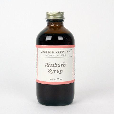 Rhubarb Syrup | cadging | Pinterest