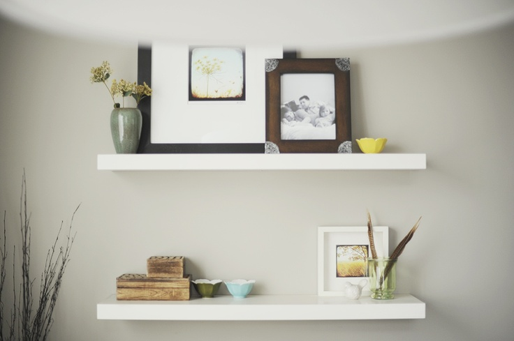 floating shelves from ikea