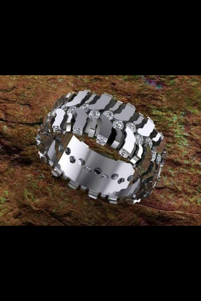 Mud Tire Wedding Rings Sets Wedding Rings For Women