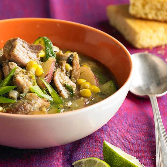 Poblano Pork Stew from the Better Homes and Gardens Must-Have Recipes ...