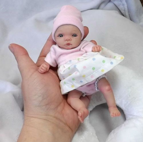 Ooak artist hand sculpted polymer clay baby by stork bites cindy