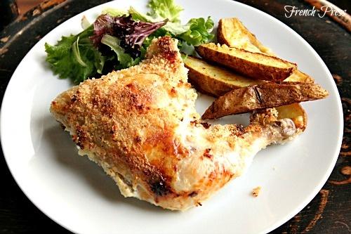 French Press: Crispy Parmesan Chicken #choosesmart #cbias