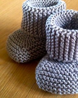 Free Vintage Crochet Pattern - Infant Baby Booties - Baby
