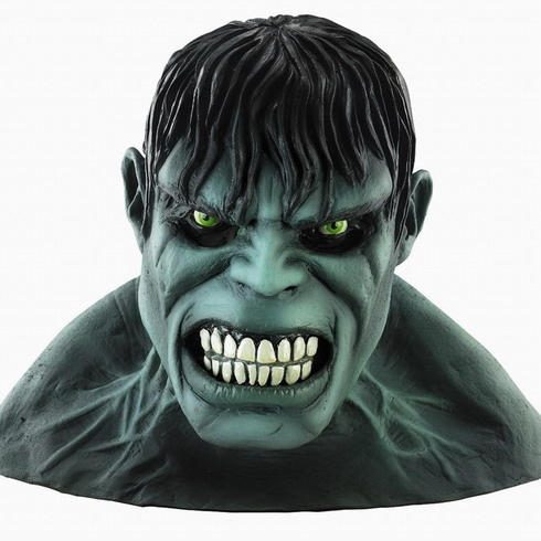 The incredible hulk latex mask accessories pinterest