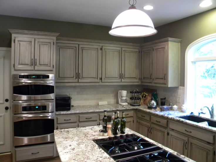 taupe kitchen cabinets - surprisingly, I don't care for the ...