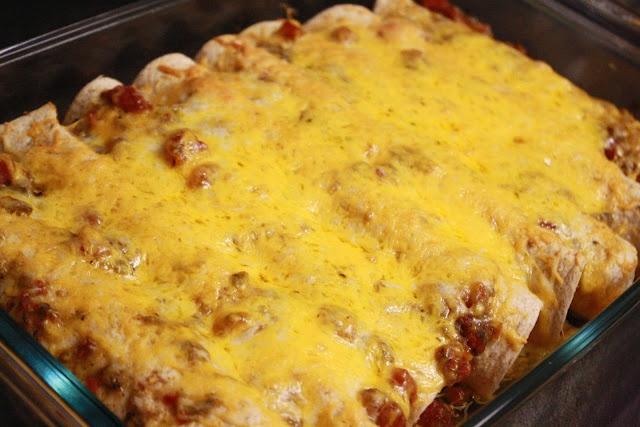 Slow-Cooker Verde Pork Enchiladas | Main Dishes | Pinterest