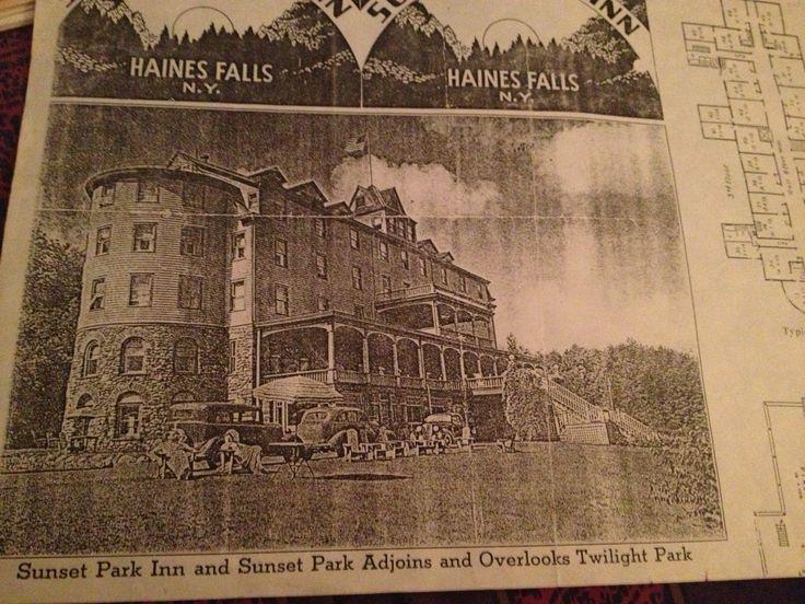 Sunset Park Inn Haines Falls Ny Abandoned Haunted
