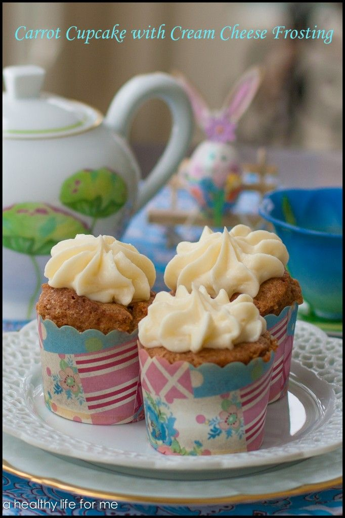 Carrot Cupcakes with Cream Cheese Frosting | Recipe