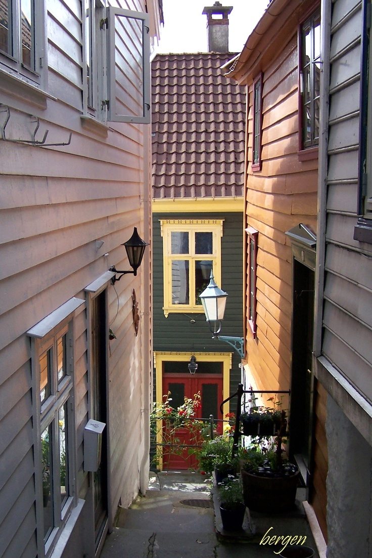 Bergen, Norway - Two of my grandparents are from this part of Norway and we were able to visit in 2000.