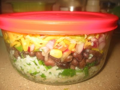 Mexican Rice Bowl   Healthy recipes - okay they were supposed to be h ...