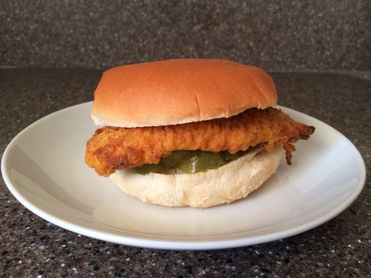Homemade Spicy Chick-Fil-A Chicken Sandwich