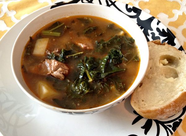 Portuguese Kale Soup | Lunch and Dinner | Pinterest