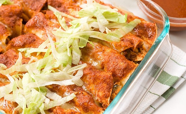 America's Test Kitchen's Light Chicken Enchilada // Minus 230 ...
