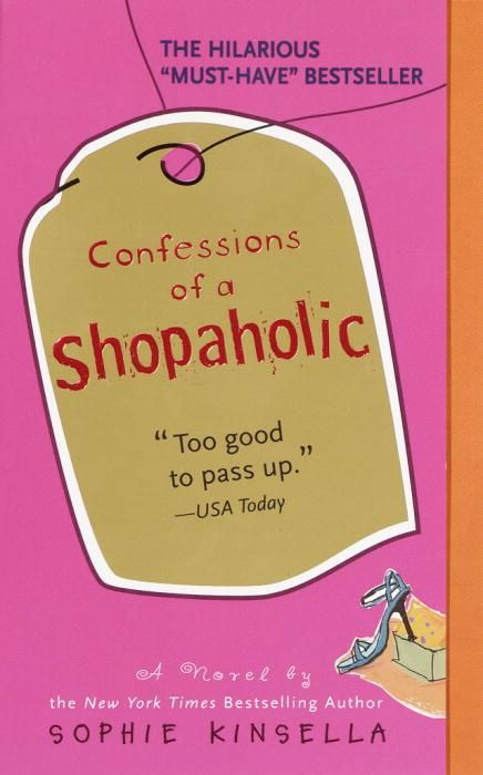 Confessions of a Shopaholic, Sophie Kinsella. The title tells you everything! (for girls only xD)