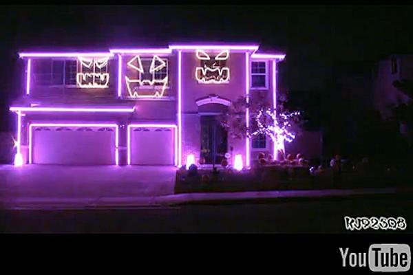 halloween house lights virginia
