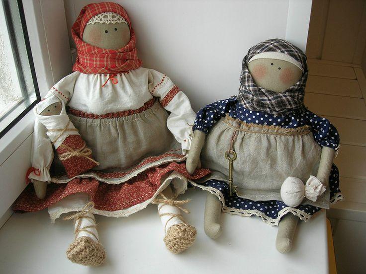 Кукла бабушка из ткани 188
