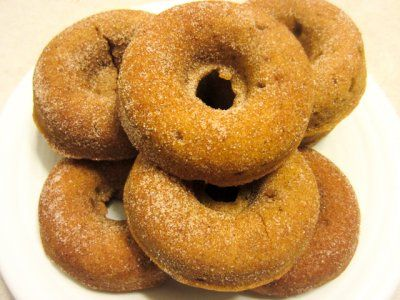 whole wheat pumpkin doughnut. | Food. | Pinterest