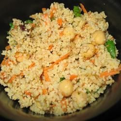 Couscous Salad with Chickpeas, Dates & Cinnamon Recipe - Allrecipes ...
