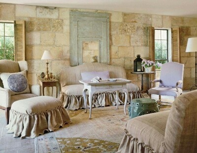 French Country Living Room INDOOR French Country Cottage Pinter