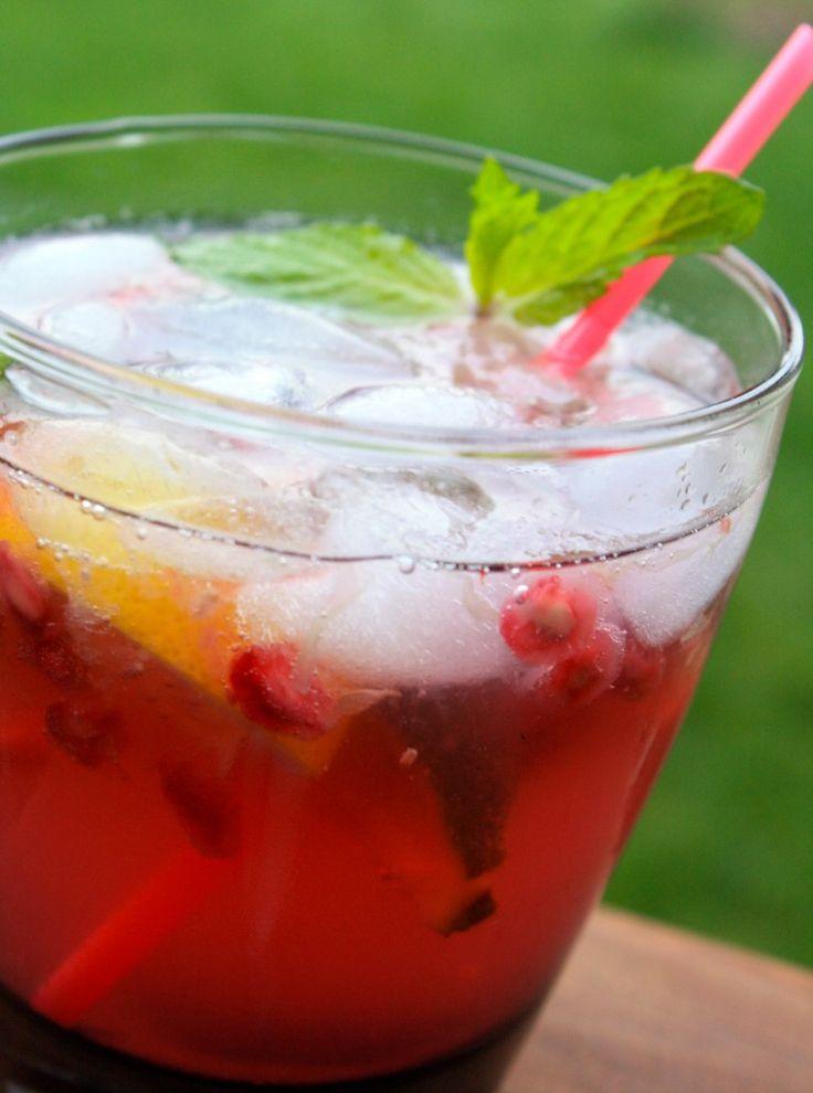 Pomegranate Mojito (1.5oz Silver Rum 1 Lime Wedge 1 Lemon Wedge 3-5 ...